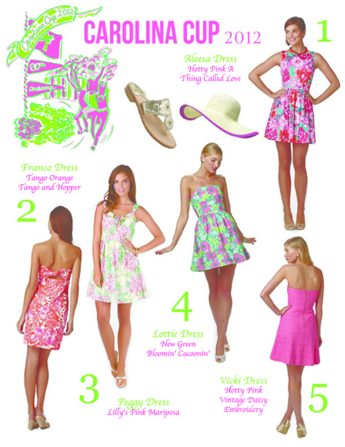 Lilly Pulitzer promotes the Carolina Cup - Lilly Pulitzer