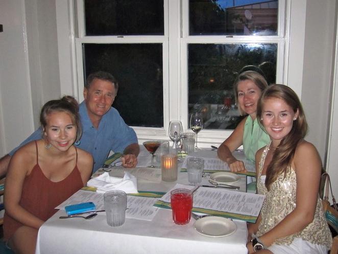 Dinner at Café 30-A.