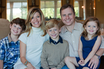 Kristin Cowden of Kris-10's Creations and her sweet family.