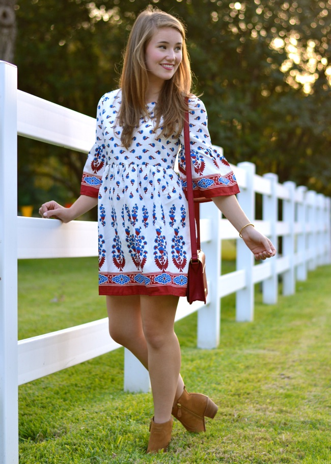 chicwish peasant dress, chicwish dress, chicwish, preppy, southern, style, southern style, sorority girl, preppy southern style, texas style, dallas blogger, texas blogger, college girl blogger, peasant dress