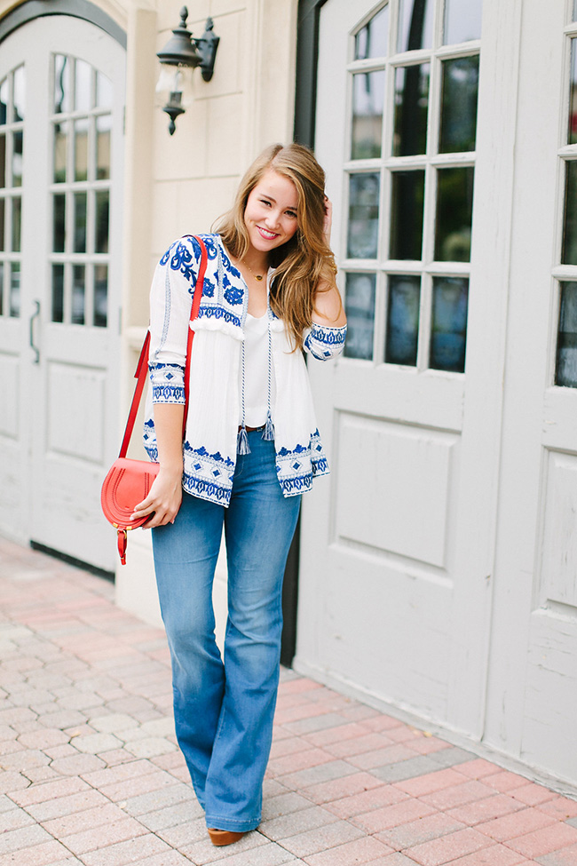 embroidered jacket | a lonestar state of southern