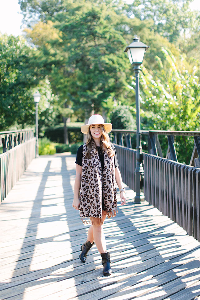 leopard scarf, nordstrom leopard scarf, ted & muffy, brandy melville dress, southern style, southern fashion, southern girl, preppy style, preppy fashion, preppy blogger, southern blogger, dallas blogger, texas blogger
