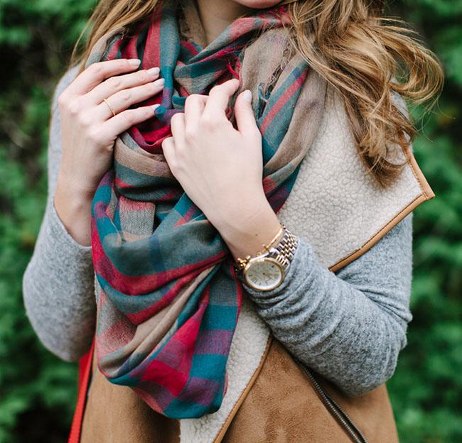 bPlaidScarf - 9