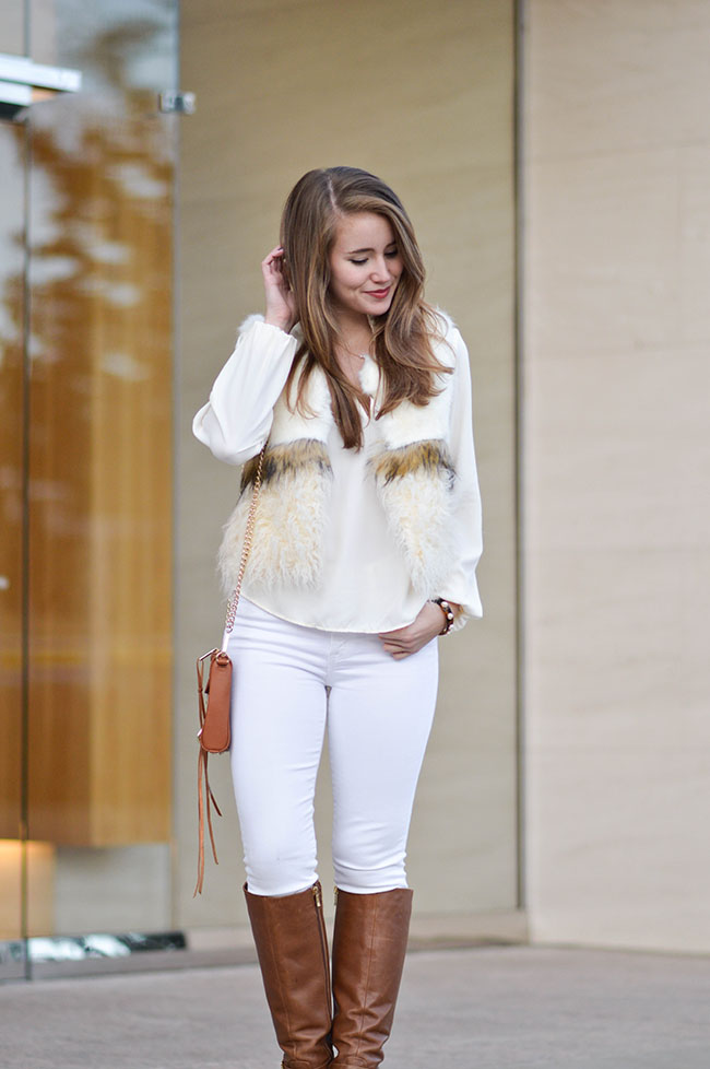 Old Navy White Blouse