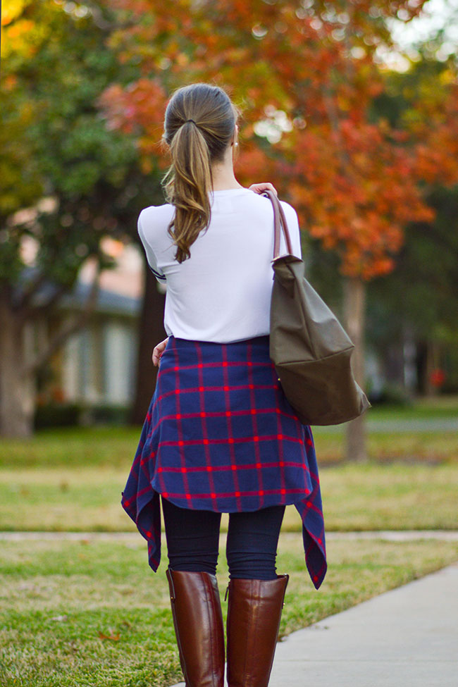 girl baseball shirt, flannel, riding boots, le pliage longchamp, longchamp bag, southern girl, riding boots, how to wear riding boots, how to style riding boots, texas girl