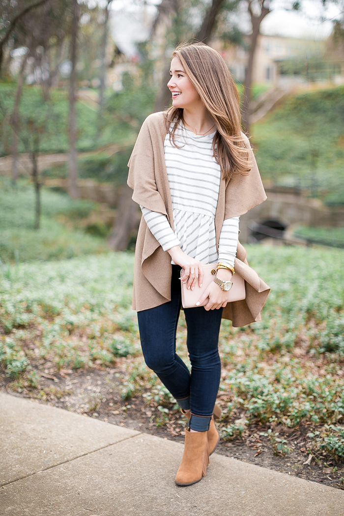 cute camel cape, just $15!