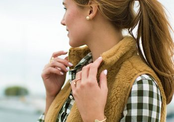 j.crew fur vest | bayfield, wisconsin