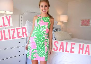 video | lilly pulitzer after party sale haul