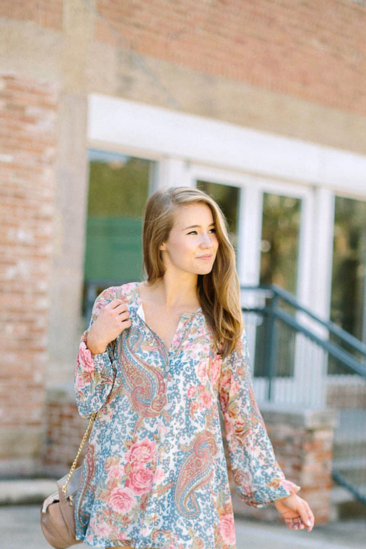 free people peasant tunic