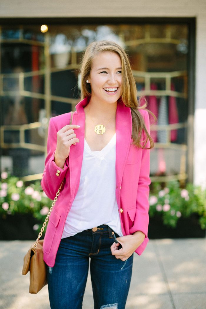 getting personal | the monogram necklace