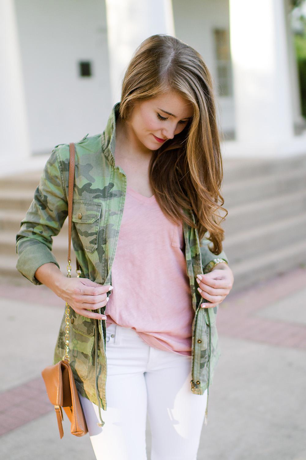 camo utility jacket