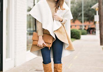 faux shearling vest