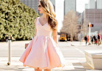 pink flounce