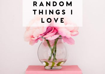 14 random things I love