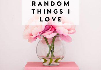 14 random things I love