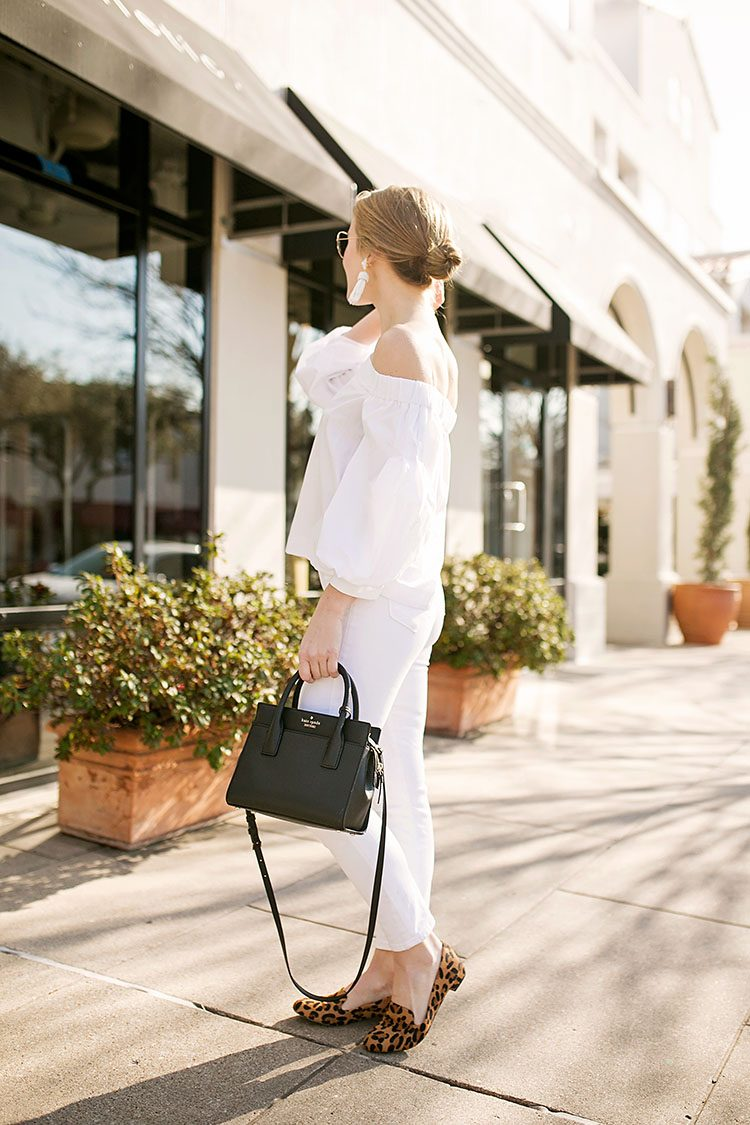 b667faa31a99 TOP white off the shoulder blouse