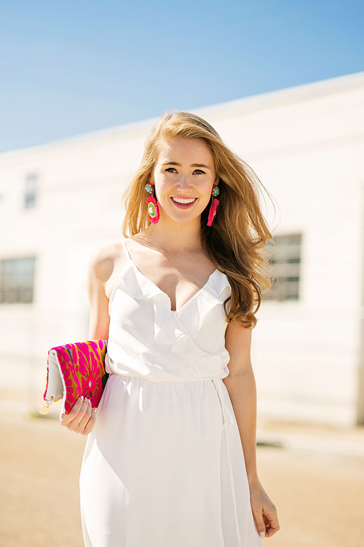 white ruffle maxi dress   LILLY PULITZER LAUNCH | a lonestar state ...