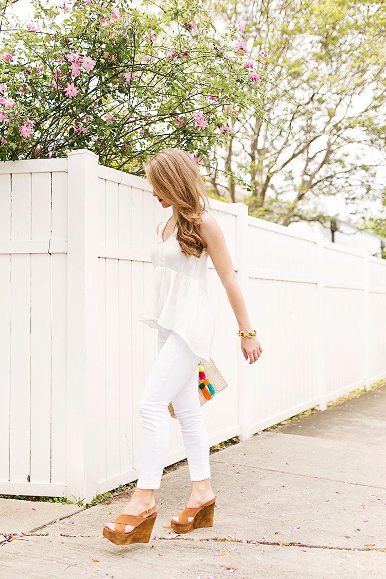 peplum high low blouse
