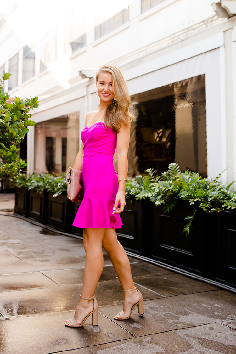 Hot Pink Party Dress A Lonestar State Of Southern