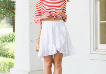 red white & striped
