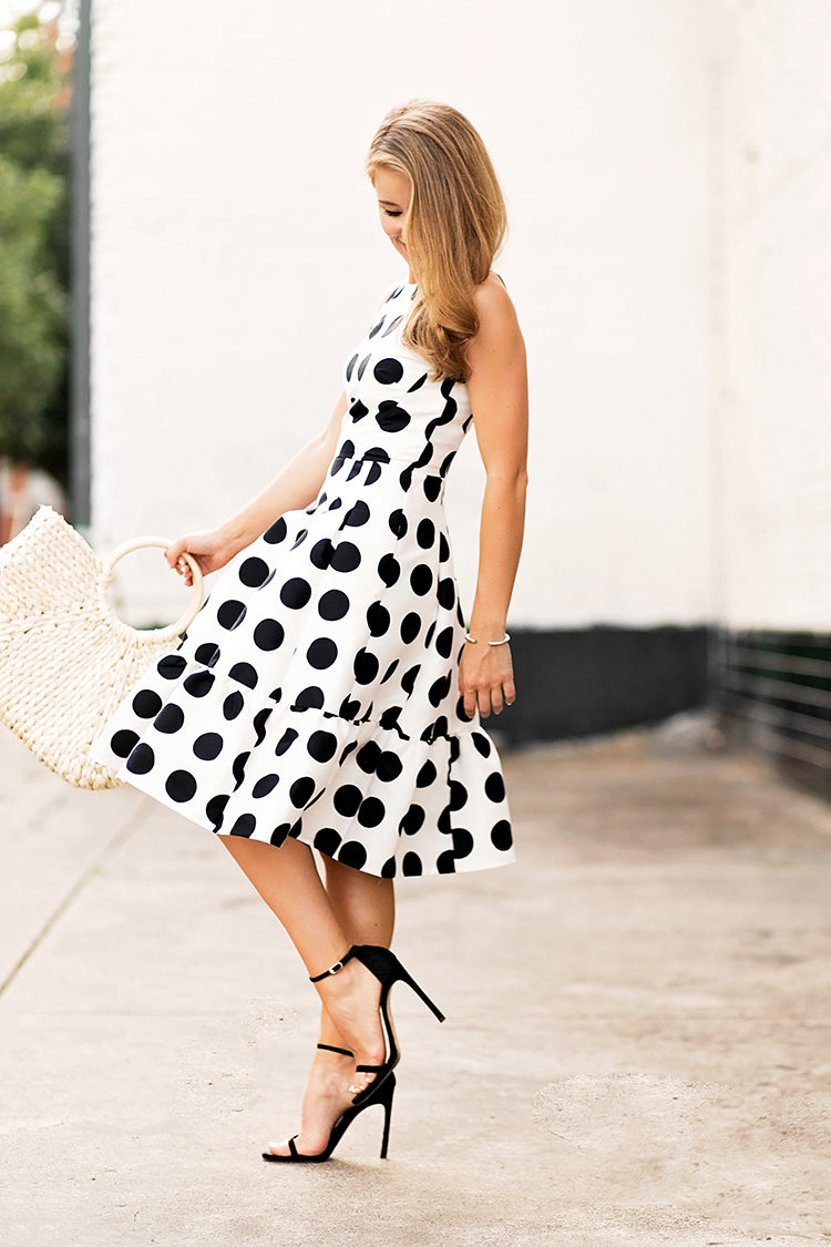 kate spade polka dot dress