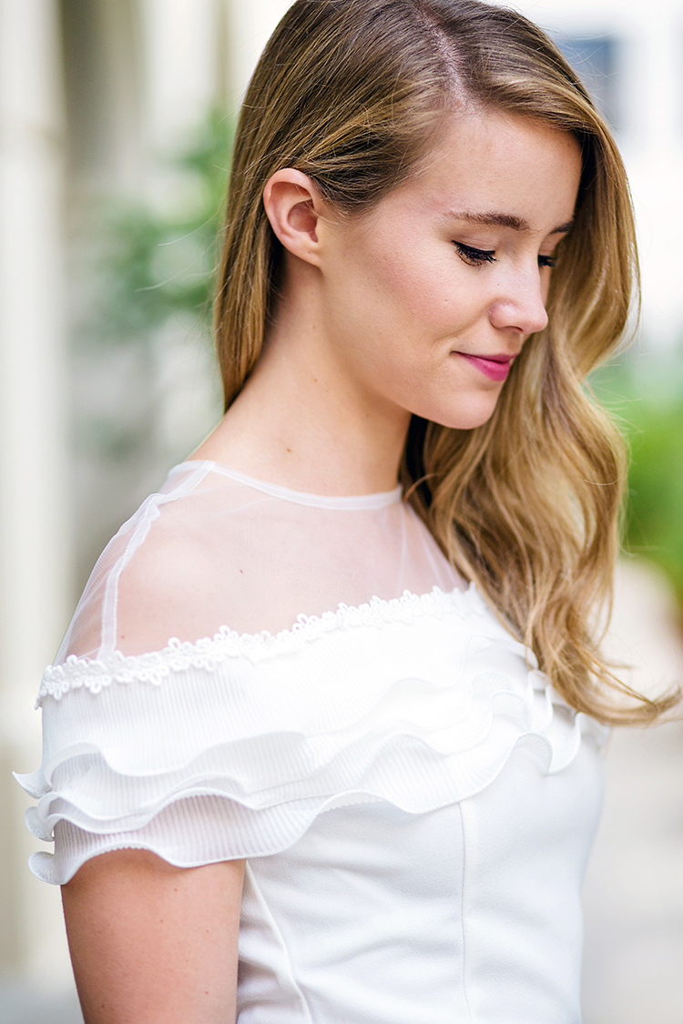 sheer illusion neckline top | a lonestar state of southern