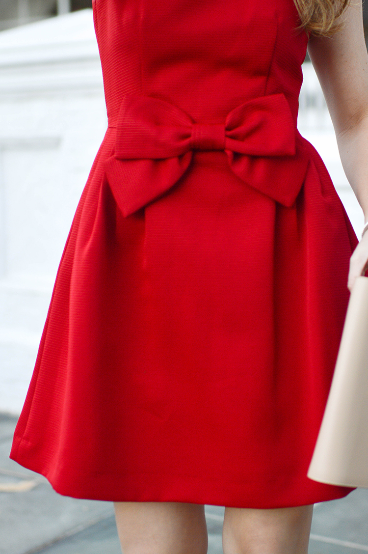 Red Bow Christmas Dress A Lonestar State Of Southern