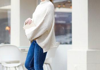 my favorite white sweater