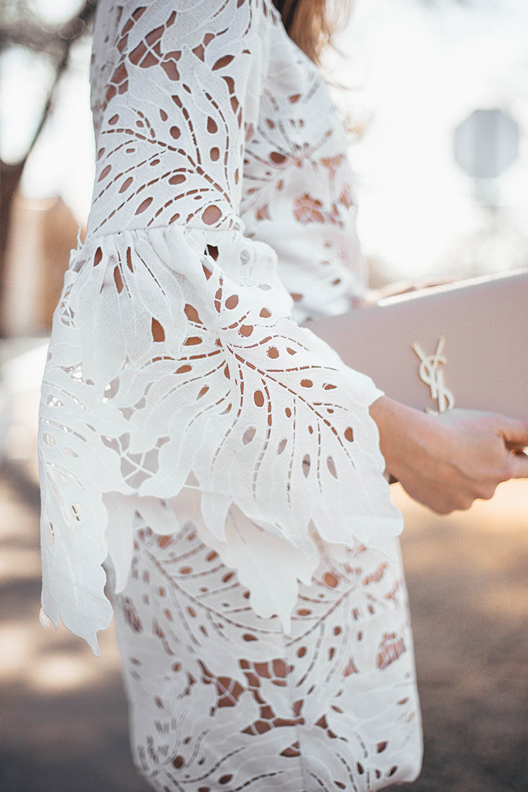 easter dress, white lace dress