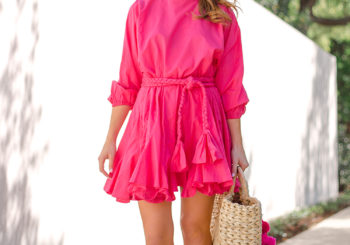 pink party dress perfection