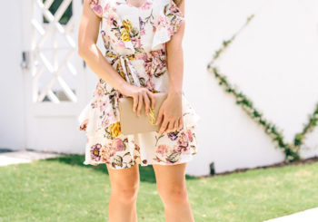 floral dress under $100