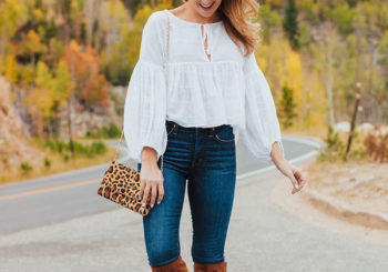 the perfect fall blouse