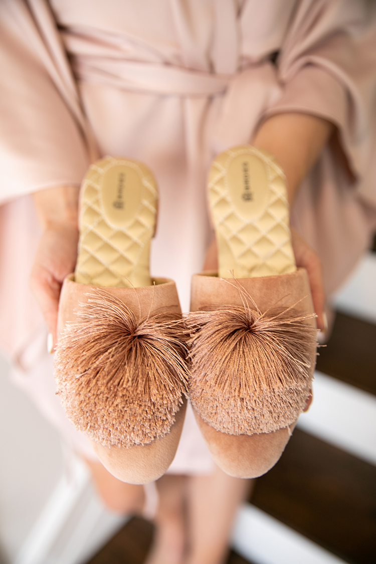 birdies bridal slippers