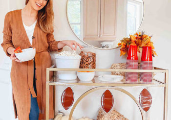 how to throw an easy & adorable fall tailgate