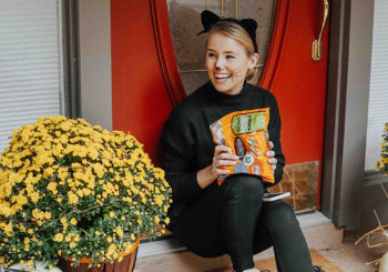 halloween ready // our front porch decor