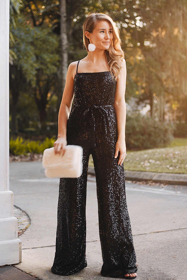 reformation prince sequin jumpsuit