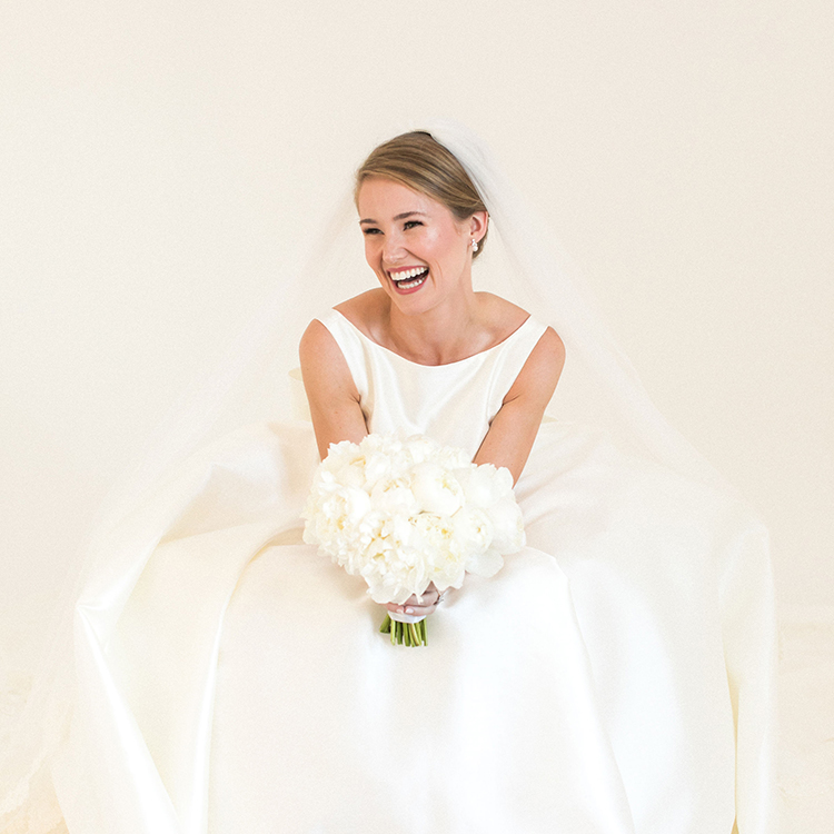 classic bridal portraits, bride, high-neck wedding dress, french twist, wedding up-do, sareh nouri, dallas bride, park cities baptist church