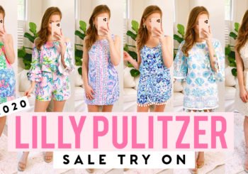 TRY ON // 2020 lilly pulitzer after party sale!