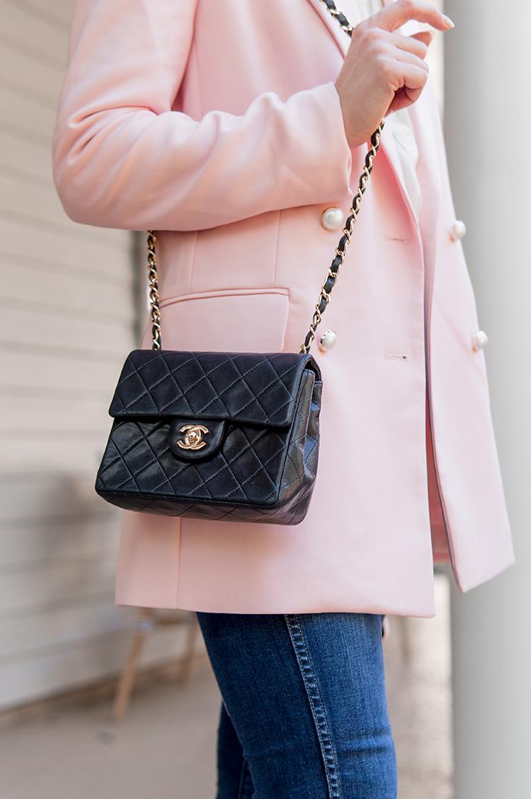 pink pearl blazer
