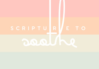 scripture to soothe // a few of your favorite verses
