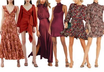36 fall wedding guest dresses