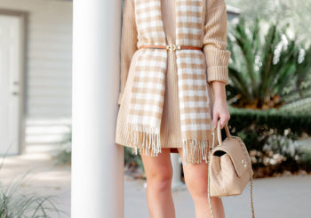 the perfect sweater dress & 3 ways to wear it