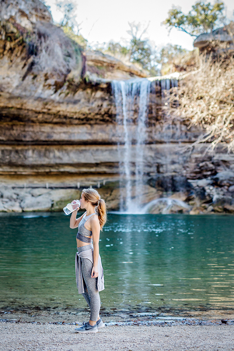 hamilton pool, austin, outdoor voices
