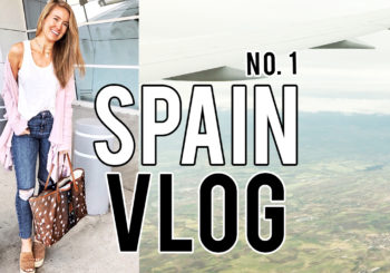 my spain adventure | vlog no. 1