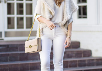 the fur vest i'm swooning over