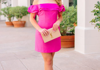 pretty in pink party dress