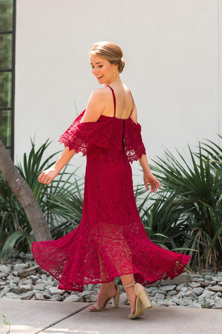affordable wedding guest dress