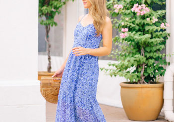 the perfect summer-to-fall maxi dress