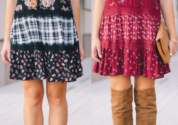 one dress, two colors // which is your fave?