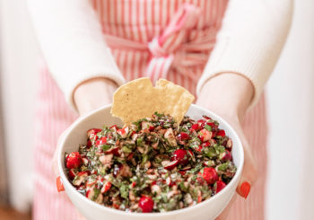 recipe // my mama's cranberry salsa
